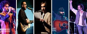 جزئیات اجراهای زنده «بمرانی»، «پالت»، «اسکارلت دهه شصت»، «داماهی» و «کاکوبند» در سال جدید