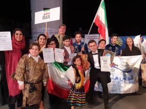 گروه «خوش هنر» مدال طلاى مسابقات فولکلور یونسکو را کسب کرد