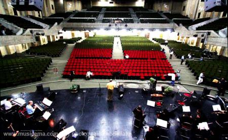 گزارش تصویری از کنسرت محمد اصفهانی و گروه اش در تالار بزرگ کشور - 1