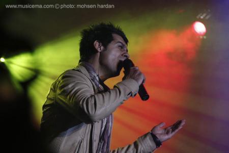 اولین کنسرت شهاب رمضان ستارهباران شد