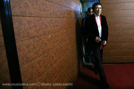 عکسهای یلدا ذبیحی از حاشیه اجرای خوان مارتین در جشنواره فجر