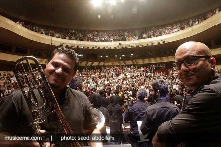گزارشهای اختصاصی سایت موسیقی ما از متن و حاشیههای اجرای ارکستر ملی - 1