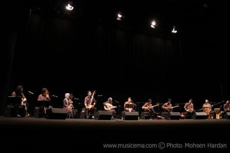 گزارش تصویری موسیقی ما از کنسرت همایون شجریان و گروه همنوازان حصار - 2