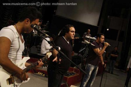 گزارش تصویری و ویدئویی در حاشیه کنسرت گروه سون