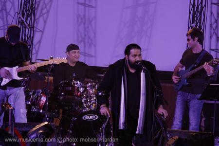 گزارش تصویری از کنسرت رضا صادقی در کرج