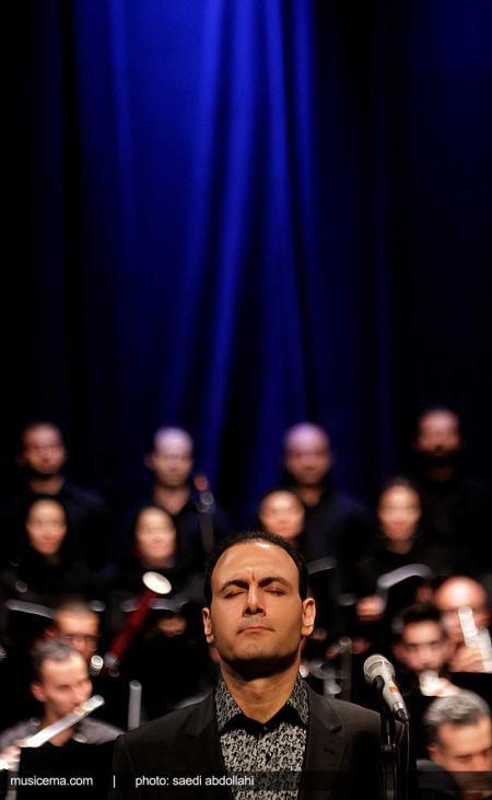 گزارش تصویری از متن و حاشیههای اجرای ارکستر ملی ایران - 3