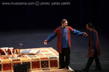 گزارش تصویری از آخرین اجرای حسین علیزاده و مجید خلج در تالار وحدت