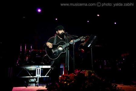عکسهای یلدا ذبیحی از کنسرت رضا صادقی در تالار وزارت کشور - 2