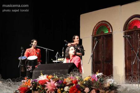 گزارش تصویری از اجرای گروه لیان به مناسبت میلاد امام علی (ع)