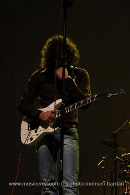 گزارش تصویری از کنسرت رضا یزدانی در اریکه ایرانیان تهران - 2