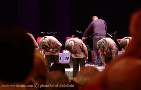 گزارش تصویری از کنسرت گروه همنوازان حضار و همایون شجریان - 3