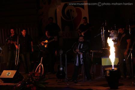 عکسهای اختصاصی «موسیقی ما» از کنسرت رضا صادقی در نوشهر - 1