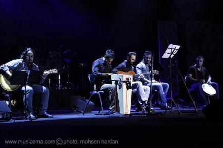 گزارش تصویری از اجرای علی اصحابی در بخش جنبی جشنواره