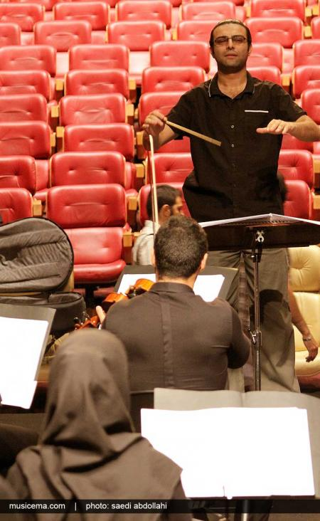 گزارش تصویری از تمرین ارکستر ملی ایران و تولد رهبرش - 2