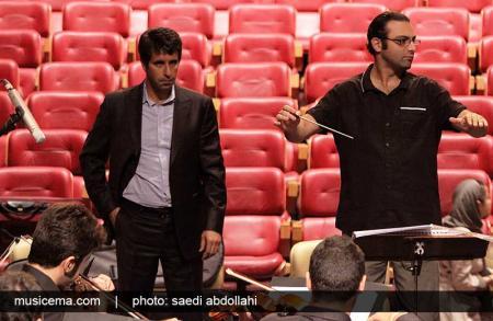 گزارش تصویری از تمرین ارکستر ملی ایران و تولد رهبرش - 1