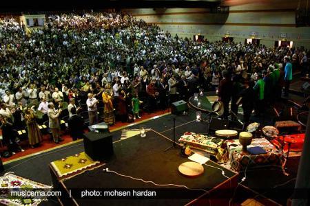 گزارش تصویری از متن و حاشیههای کنسرت شهرام ناظری و حسین علیزاده - 2
