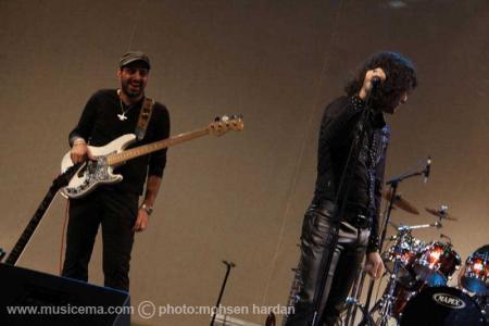 گزارش تصویری از کنسرت رضا یزدانی در اریکه ایرانیان تهران - 1