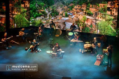 کنسرت آنلاین گروه رستاک
