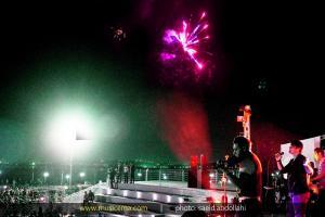 گزارش تصویری از اجرای سهراب پاکزاد در حاشیه دریاچه چیتگر