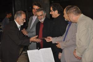 هنرمندان موسیقی دفاع مقدس تجلیل شدند