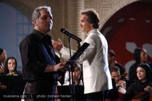 گزارش تصویری از سوپرایز شهرداد روحانی و مهران مدیری برای پانزدهمین جشن خانه سینما