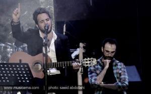 گزارش تصویری از اولین کنسرت علی عبدالمالکی - 1