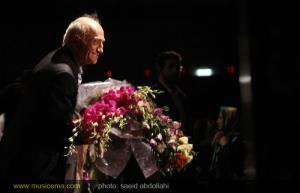 استاد «همايون خرم» در حضور مهمانان ویژه اش شب خاطره انگیزی رقم زد