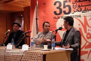 بررسی تغییرات موسیقی پاپ در سه دهه اخیر با سخنرانی محسن رجب پور و بهروز صفاریان
