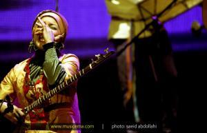 گزارش تصویری از کنسرت پرشور گروه رستاک
