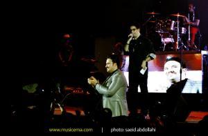 کنسرت امید حاجیلی در تهران - 3 تیر 1393