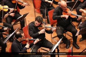 اجرای ارکستر فیلارمونیک کردستان به رهبری مهدی احمدی - بهمن 1394 (جشنواره موسیقی فجر)