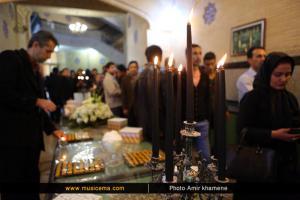 مراسم سالگرد درگذشت زنده یاد مرتضی پاشایی - آبان 1394