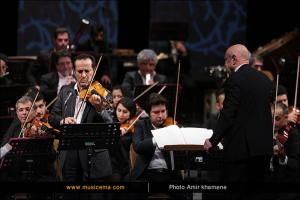 اجرای ارکستر ملی ایران به رهبری فرهاد فخرالدینی - بهمن 1394 (جشنواره موسیقی فجر)