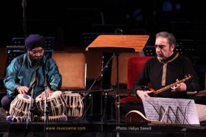 اجرای مسعود شعاری و کریستف رضاعی - بهمن 1394 (جشنواره موسیقی فجر)