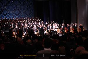 اجرای ارکستر ملی به رهبری لوریس چکناواریان - بهمن 1394 (جشنواره موسیقی فجر)