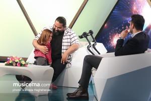 حضور رضا صادقی در برنامه یک یک شبکه اول سیما با اجرای علی ضیا - اسفند 1396