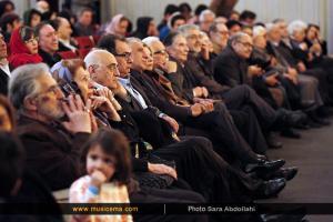 مراسم اختتامیه دومین جشنوارهی نوای خرم - دی 1394