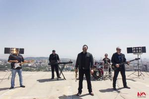 گزارش تصویری از پشت صحنه فیلمبرداری آلبوم تصویری گروه «دیوار»