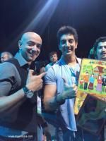 «فرزاد فرزین» جایزه اجرای بهترین قطعه موسیقی را در Art-Football 2014 از آن خود کرد