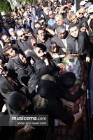 مراسم تشییع پیکر ناصر فرهودی - 16 مرداد 1396