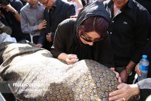 مراسم تشییع پیکر نادر گلچین - 2 مهر 1396