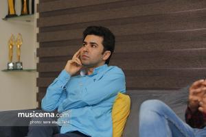 گفت و گو با علی قمصری و زکریا یوسفی در دفتر سایت «موسیقی ما» - اردیبهشت 1396