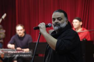 تمرین علیرضا عصار برای کنسرت بهمنماه - 24 دی 1395