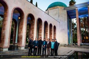 کنسرت علیرضا قربانی در شیراز - 1 اردیبهشت 1395