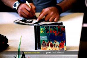 مراسم رونمایی آلبوم «یه مشت حرف» اثر گروه «آویستا» - 16 خرداد 1395