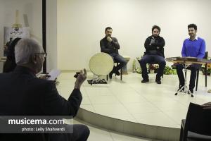 مراسم رونمایی آلبوم «بزم حریفان» اثر سهیل حسنوی و شایان ریاحی - 20 بهمن 1396