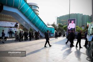 مراسم یادبود بهنام صفوی در تهران - 29 اردیبهشت 1398