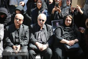 مراسم تشییع و خاکسپاری بهنام صفوی - 25 اردیبهشت 1398