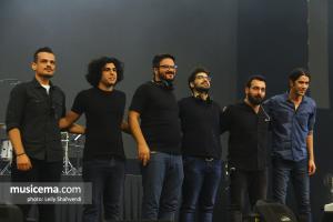 کنسرت گروه چارتار در فستیوال ققنوس - 12 شهریور 1397