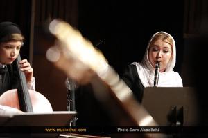 اجرای موسیقی کریستف رضاعی (موسیقی و تصویر) - هفته موسیقی تلفیقی تهران - 29 اردیبهشت 1395